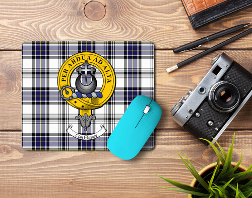 Hannay Clan Crest Mouse Pad