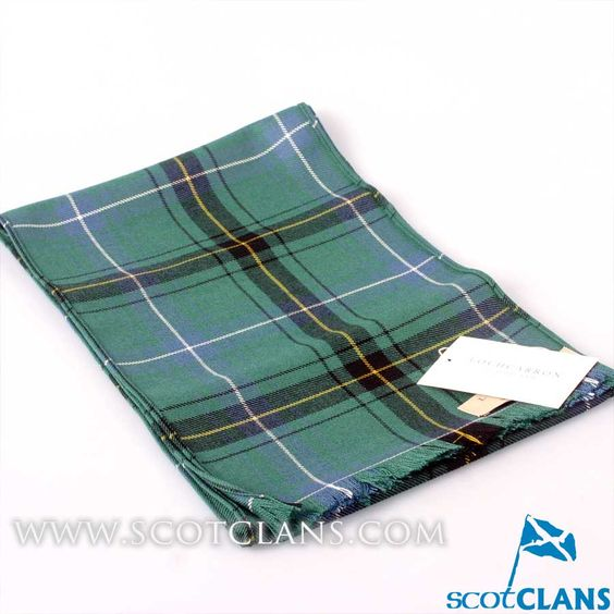 Luxury Lightweight Scarf in Henderson Ancient Tartan
