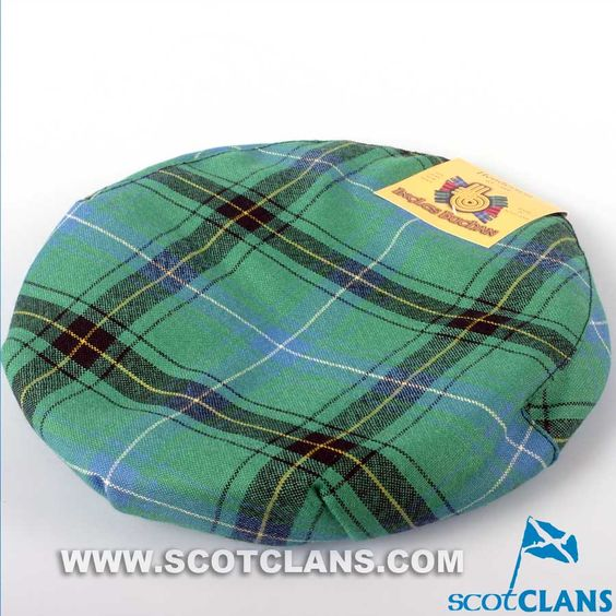 Pure Wool Golf Cap in Henderson Ancient Tartan