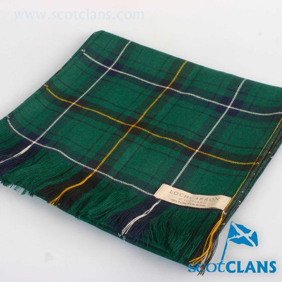 Luxury Lightweight Scarf in Henderson Modern Tartan