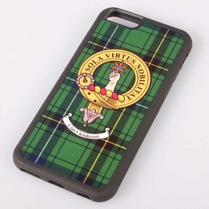 Henderson Tartan and Clan Crest iPhone Rubber Case - 4 - 7