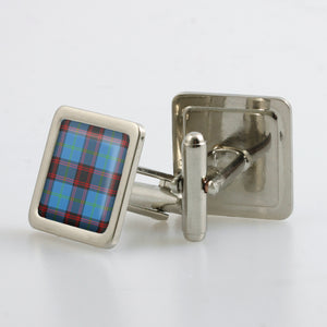 Home / Hume Ancient Tartan Cufflinks - Choose Your Shape