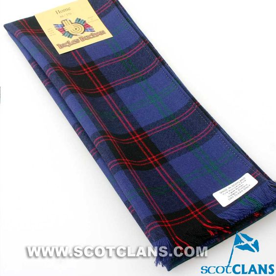 Wool Scarf in Home Modern Tartan