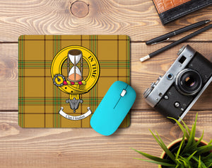 Houston Clan Crest Mouse Pad