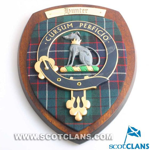 Hunter Clan Crest Plaque