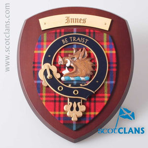Innes Clan Crest Plaque