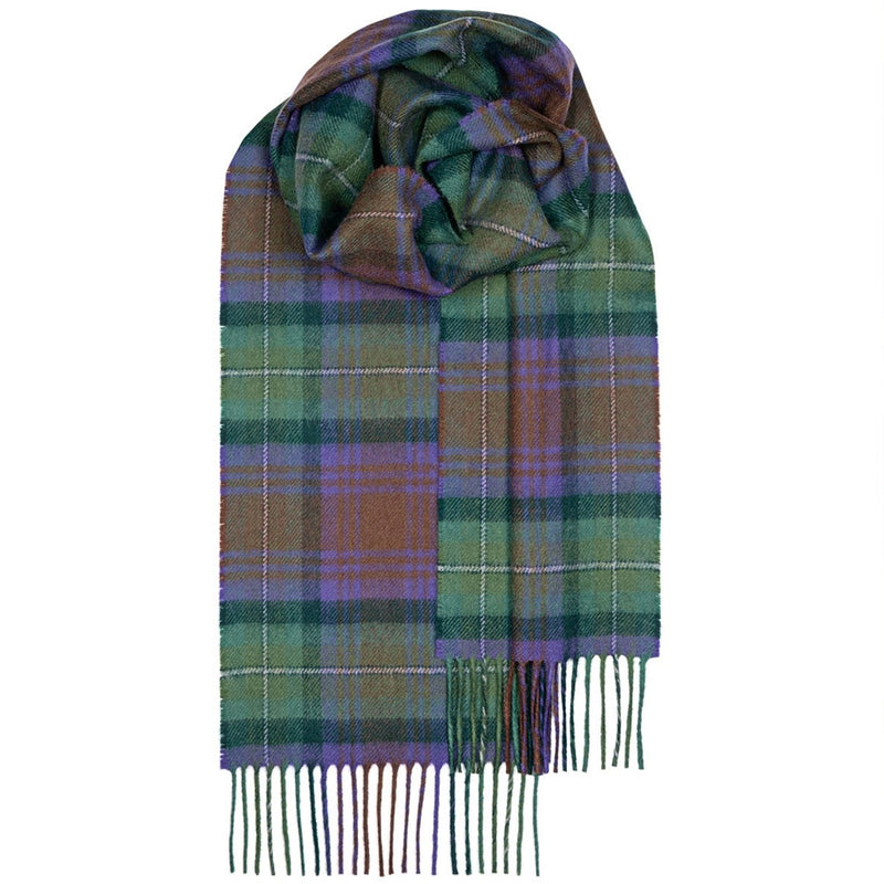 Lambswool Scarf in Isle of Skye Tartan