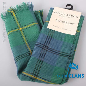 Luxury Lightweight Scarf in Johnstone Ancient Tartan