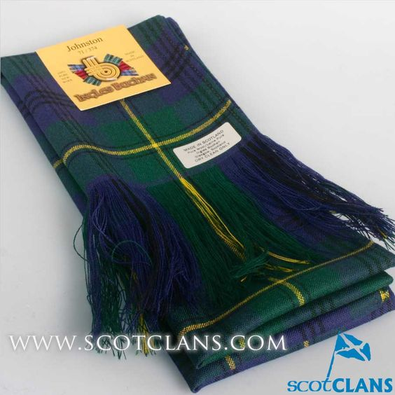 Wool Tartan Full Length Sash in Johnstone Modern Tartan