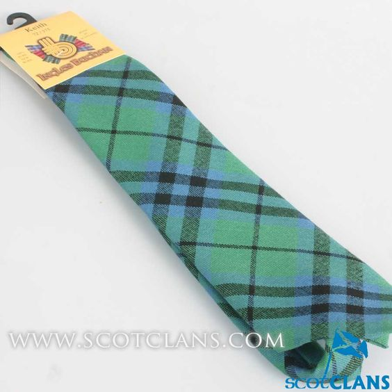 Pure Wool Tie in Keith Ancient Tartan