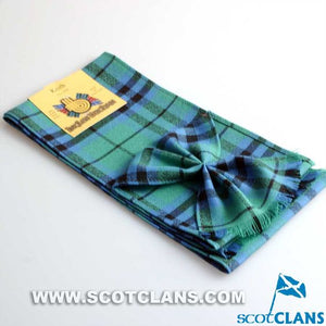 Wool Tartan Mini Sash in Keith Ancient Tartan
