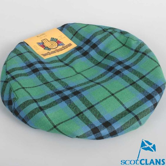 Pure Wool Golf Cap in Keith Ancient Tartan
