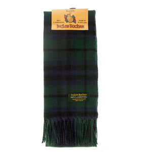 Lambswool Scarf in Keith Modern Tartan