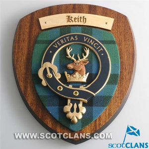 Keith Clan Crest Plaque