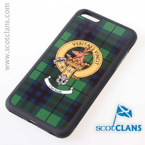 Keith Tartan and Clan Crest iPhone Rubber Case - 4 - 7