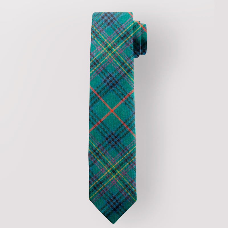 Pure Wool Tie in Kennedy Ancient Tartan.
