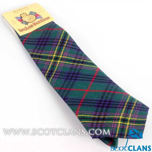 Pure Wool Tie in Kennedy Modern Tartan