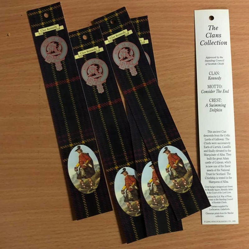 Kennedy Clan Bookmarks 5 Pack