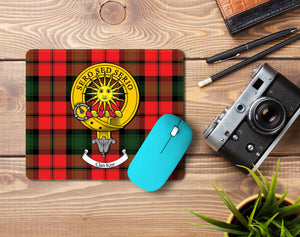 Kerr Clan Crest Mouse Pad