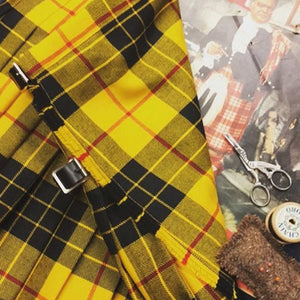 Heavy Weight Hand Stitched Kilt - Tartans T-Y  FREE POSTAGE