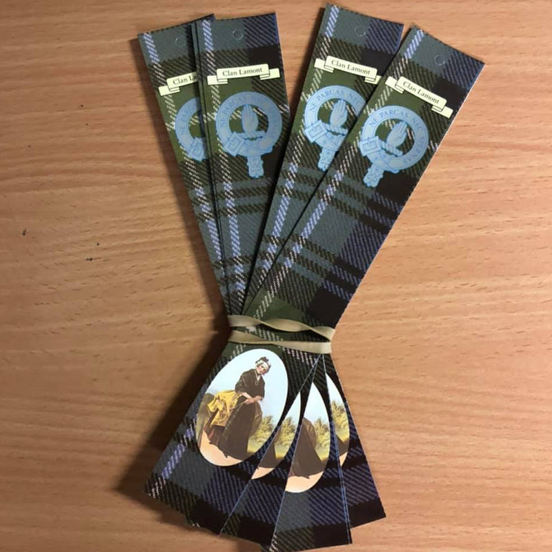Lamont Clan Bookmarks 5 Pack