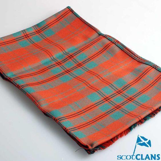 Wool Scarf in Livingston Ancient Tartan