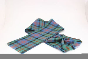 Wool Tartan Mini Sash in Logan Ancient Tartan