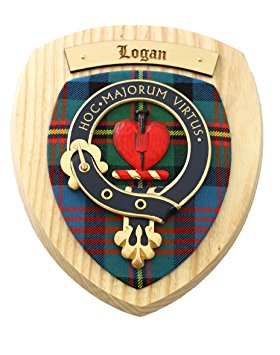 Logan Clan Crest Plaque