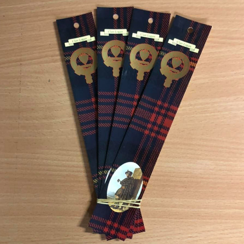 Logan Clan Bookmarks 5 Pack