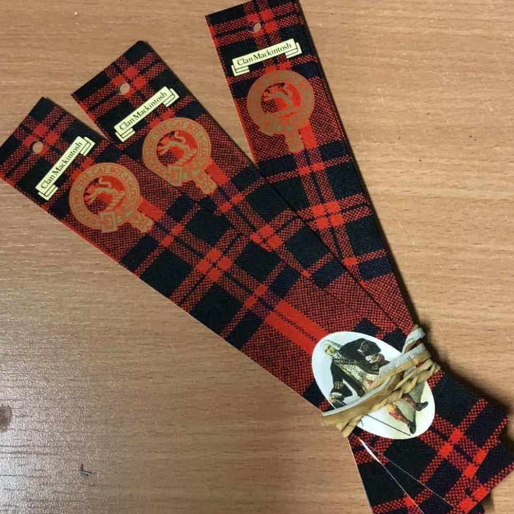 MacKintosh Clan Bookmarks 5 Pack