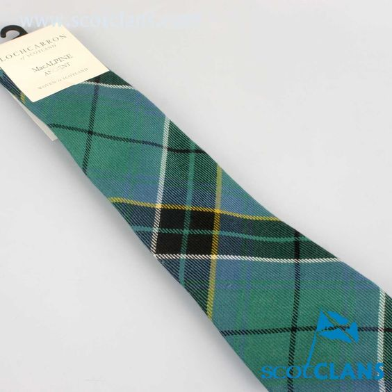 Pure Wool Tie in MacAlpine Ancient Tartan
