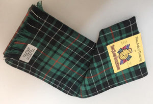 Wool Scarf in MacAulay Hunting Ancient Tartan