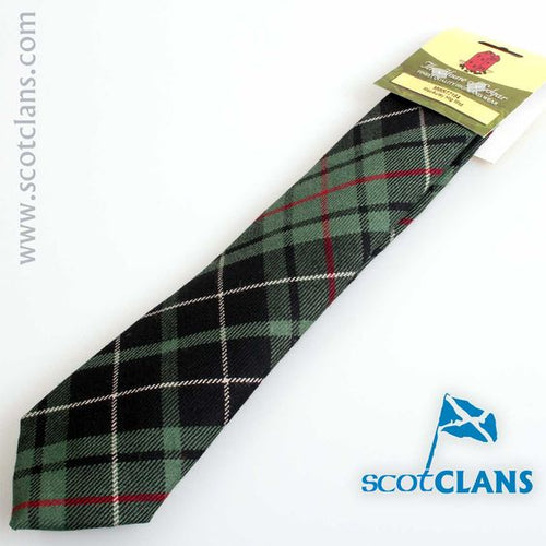 Pure Wool Tie in MacAulay Hunting Modern Tartan