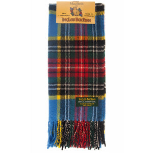 Lambswool Scarf in MacBeth Tartan