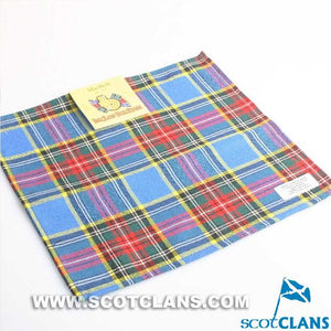 Wool Tartan Pocket Square in MacBeth Tartan