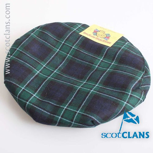 Pure Wool Golf Cap in MacCallum Modern Tartan