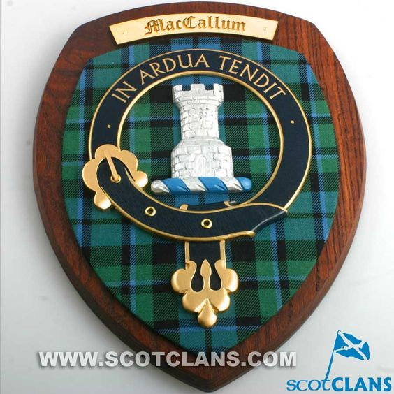 MacCallum Clan Crest Plaque