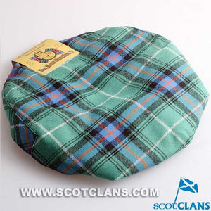 Pure Wool Golf Cap in MacDonald of the Isles Tartan