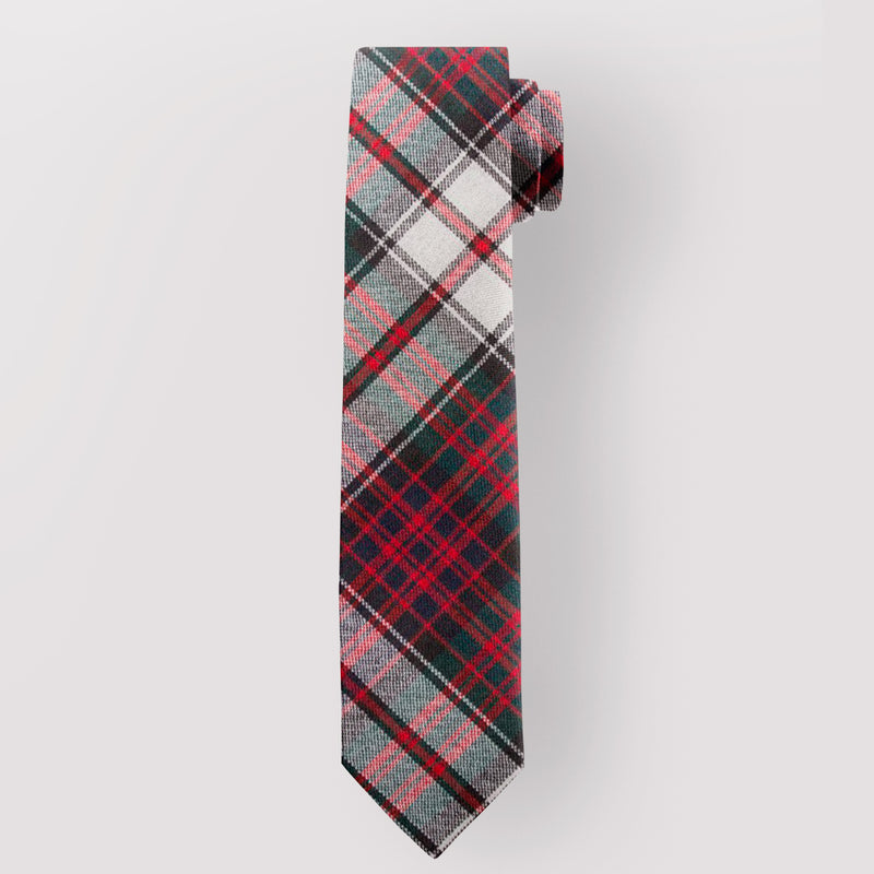 Pure Wool Tie in MacDonald Dress Modern Tartan.