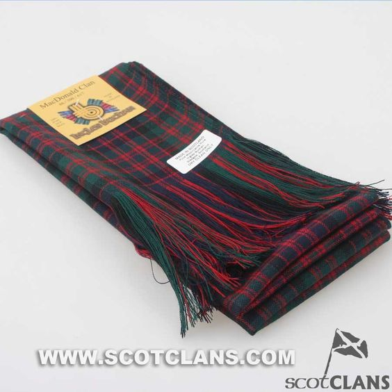 Full Length Sash in MacDonald Modern Tartan
