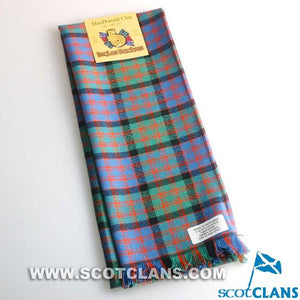 Wool Scarf in MacDonald Ancient Tartan