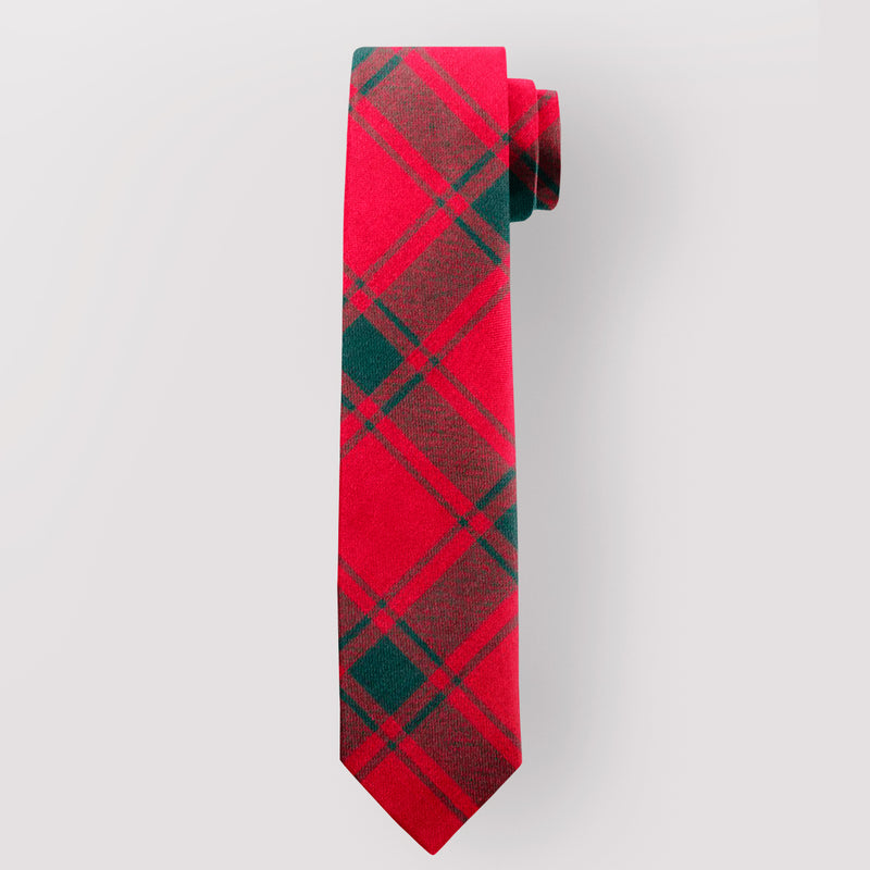 Pure Wool Tie in MacDonald of Sleat Tartan