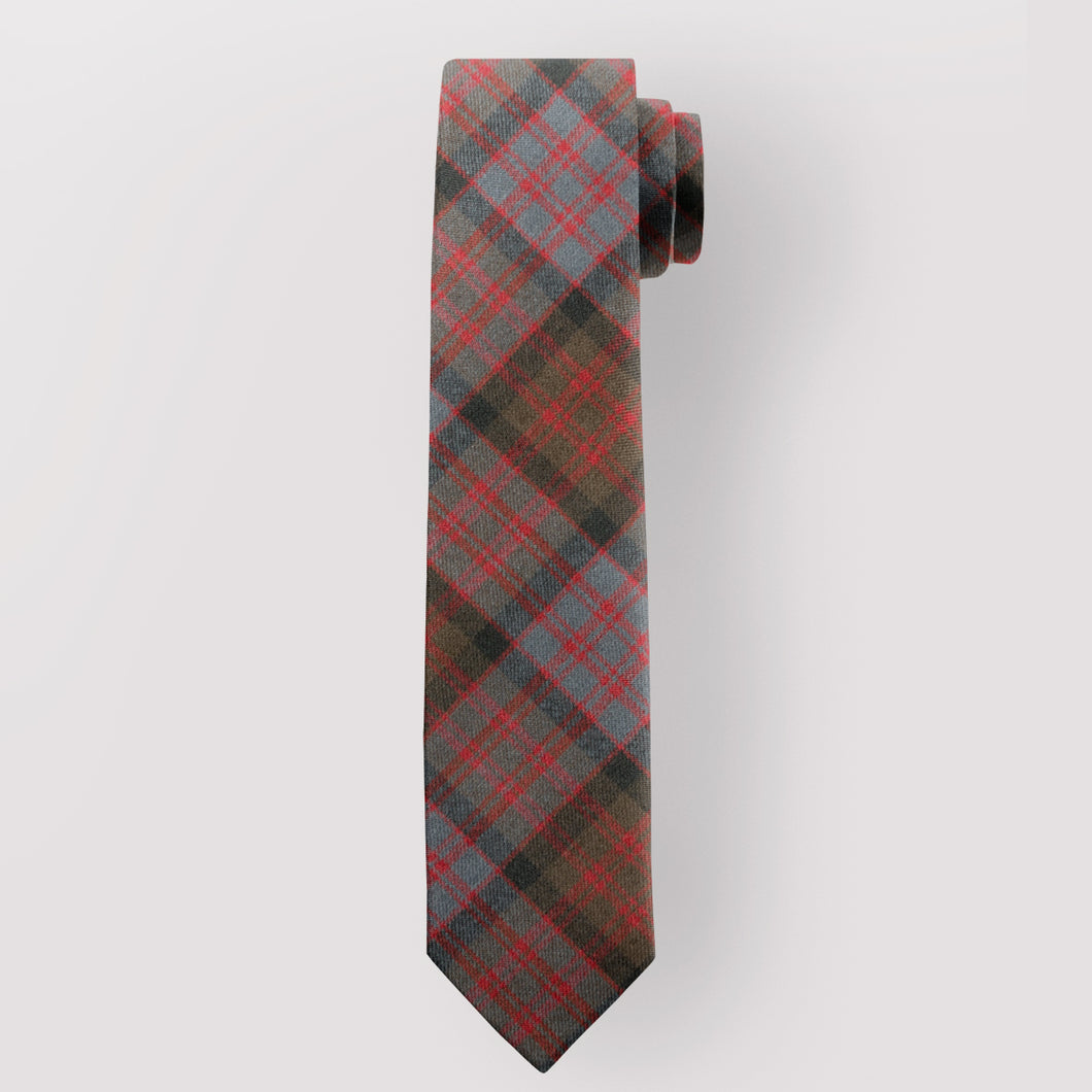 Pure Wool Tie in MacDonald Weathered Tartan.