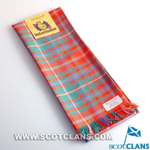 Wool Scarf in MacDougall Ancient Tartan