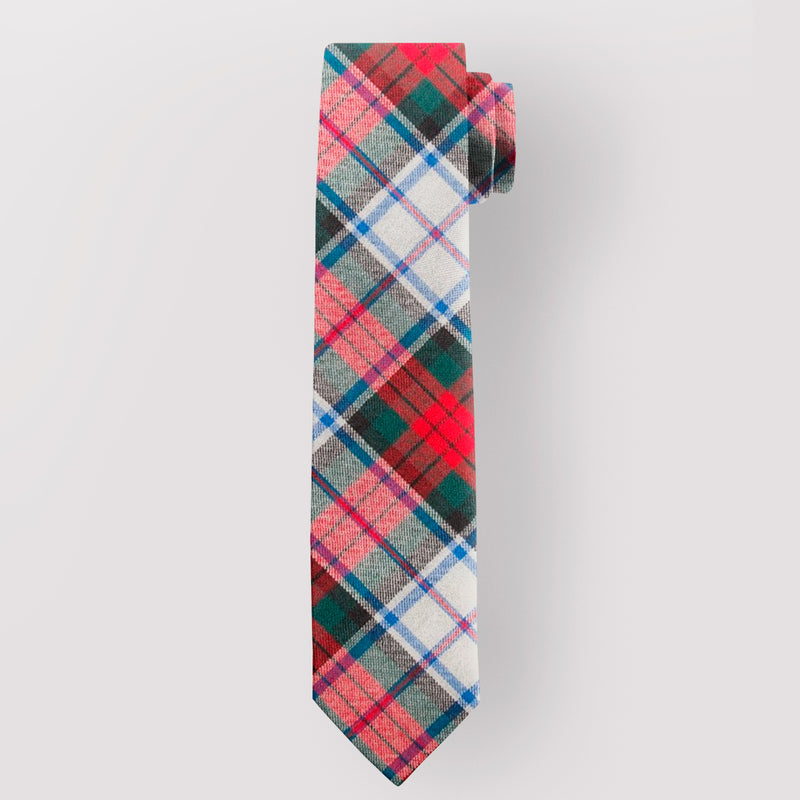 Pure Wool Tie in MacDuff Dress Modern Tartan.