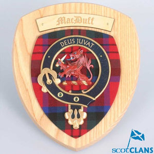 MacDuff Clan Crest Plaque