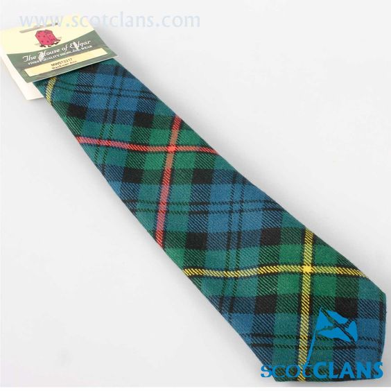 Old and Rare Tie in MacEwan Ancient Tartan