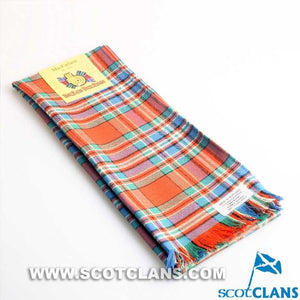 Wool Scarf in MacFarlane Ancient Tartan