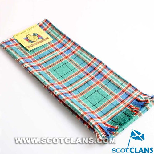 Wool Scarf in MacFarlane Hunting Ancient Tartan