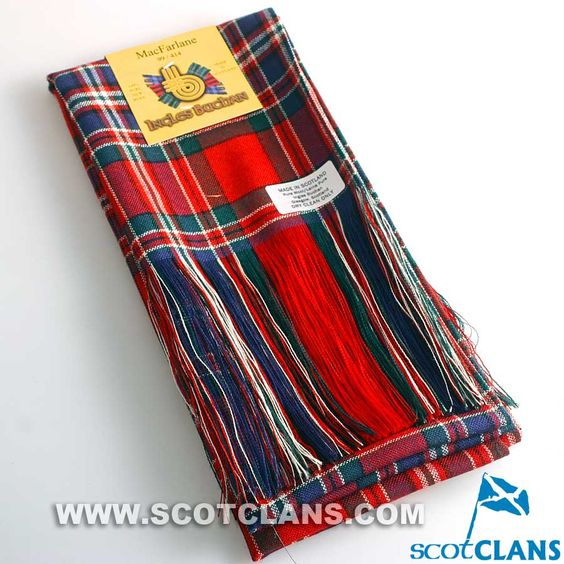 Full Length Sash in MacFarlane Modern Tartan